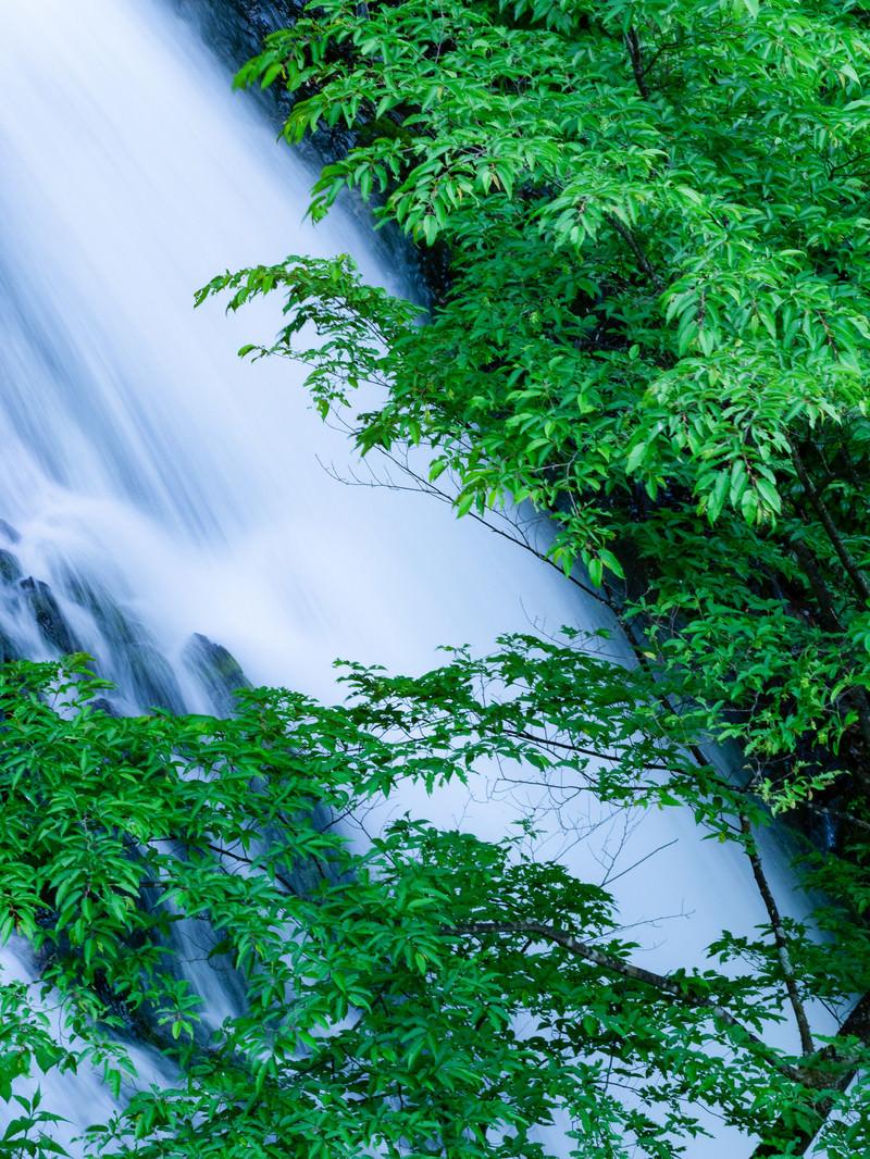 「滝の流れと癒やし | 写真の無料素材・フリー素材 - ぱくたそ」の写真