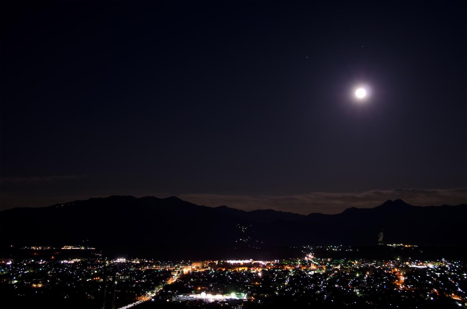 「月は見下ろす」の写真