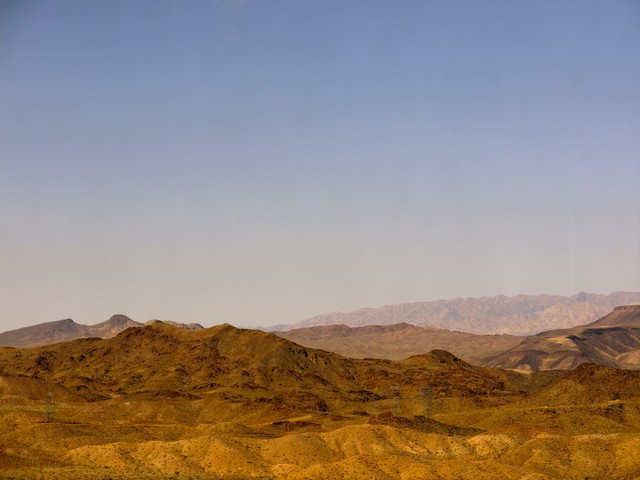 ラスベガス周辺の山の写真