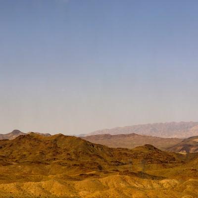 「ラスベガス周辺の山」の写真素材