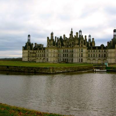 シャンボール城の写真