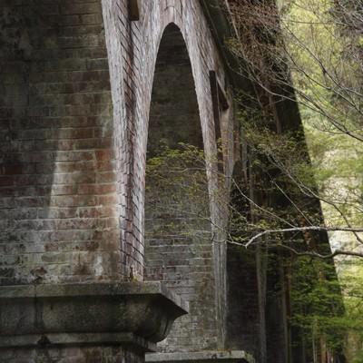 「アーチ型の橋」の写真素材