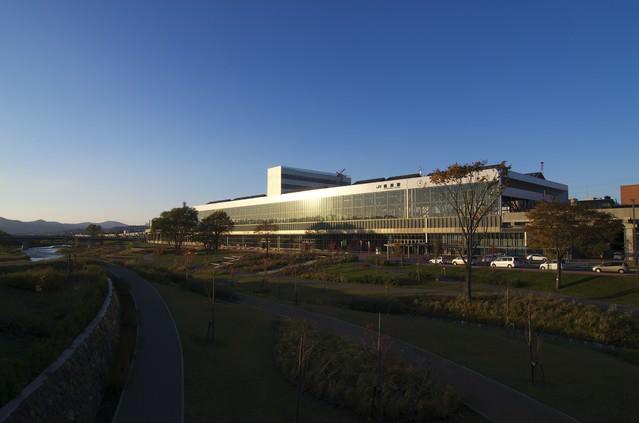 JR旭川駅前の写真