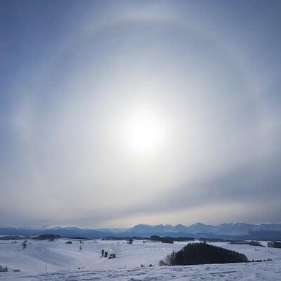 「日輪」の写真素材