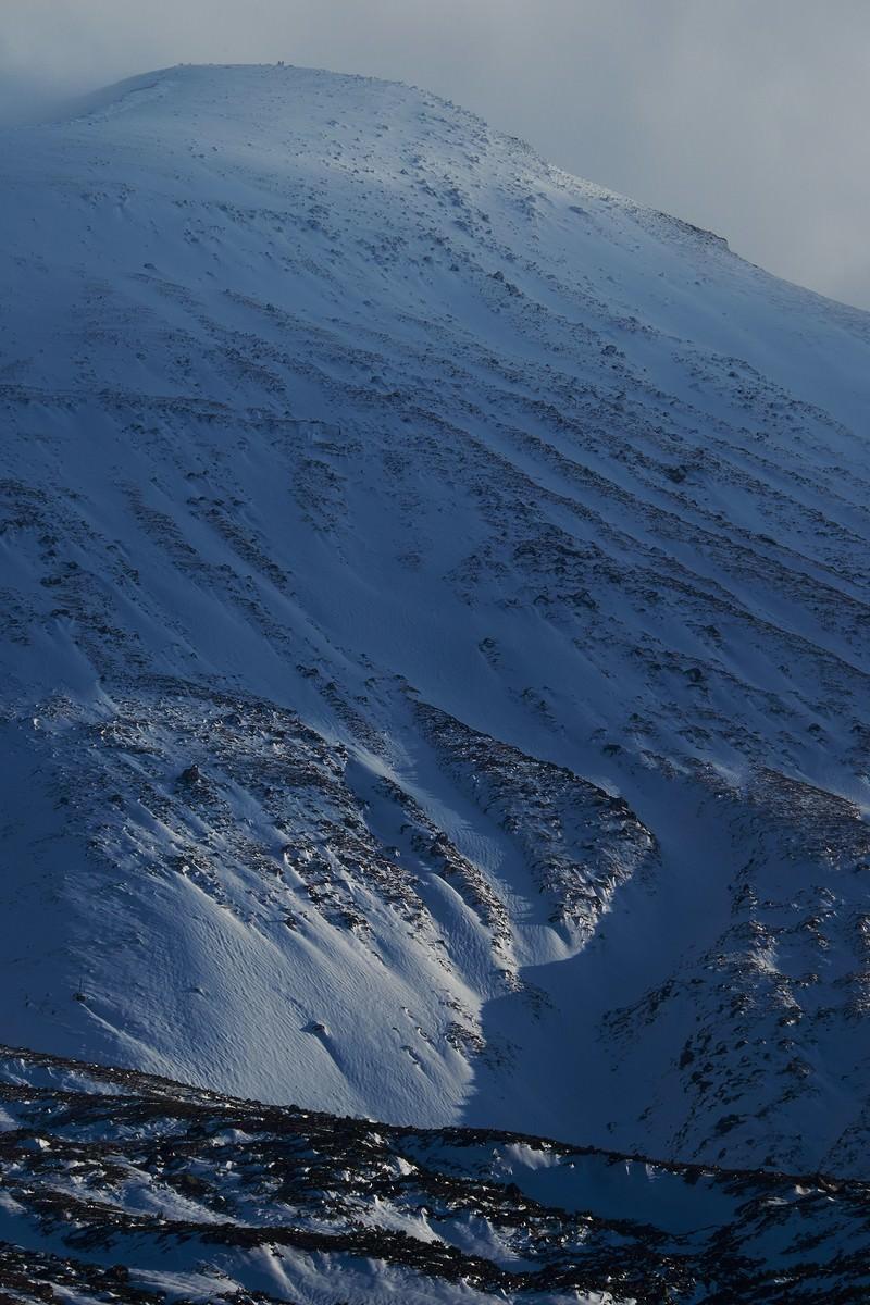 「雪山」の写真