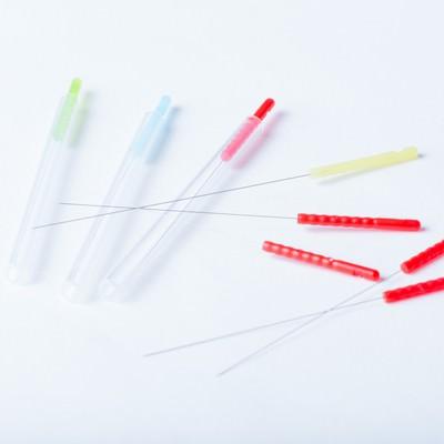 「鍼灸専用の鍼」の写真素材