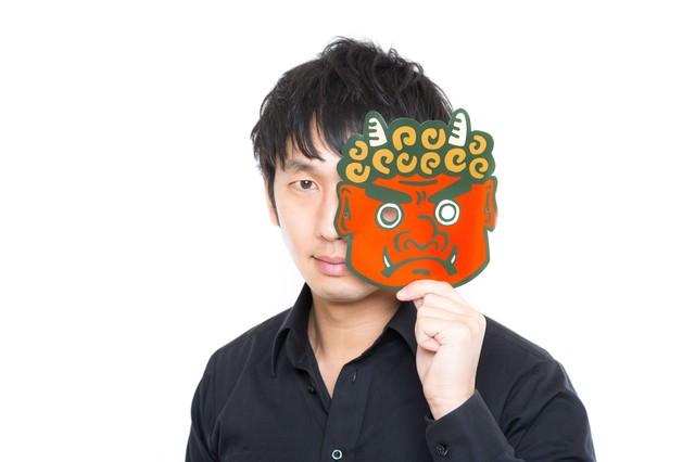 「節子、それ鬼やない。お兄ちゃんや」と正体を明かすブラザーの写真