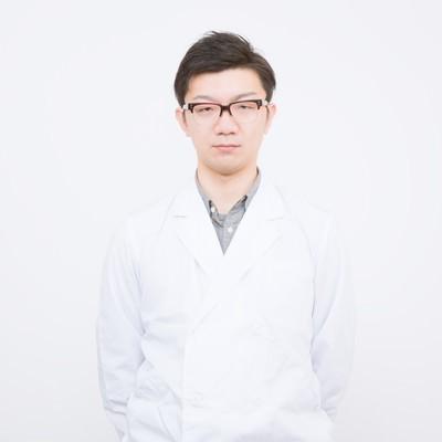「白衣を来たドクター」の写真素材