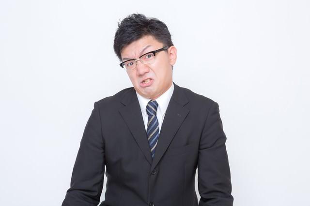 2.「激おこ」な男性の写真