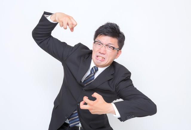 3.「激おこぷんぷん」な男性の写真