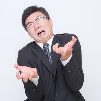 「4.「ムカ着火ファイアー」な男性」の写真素材
