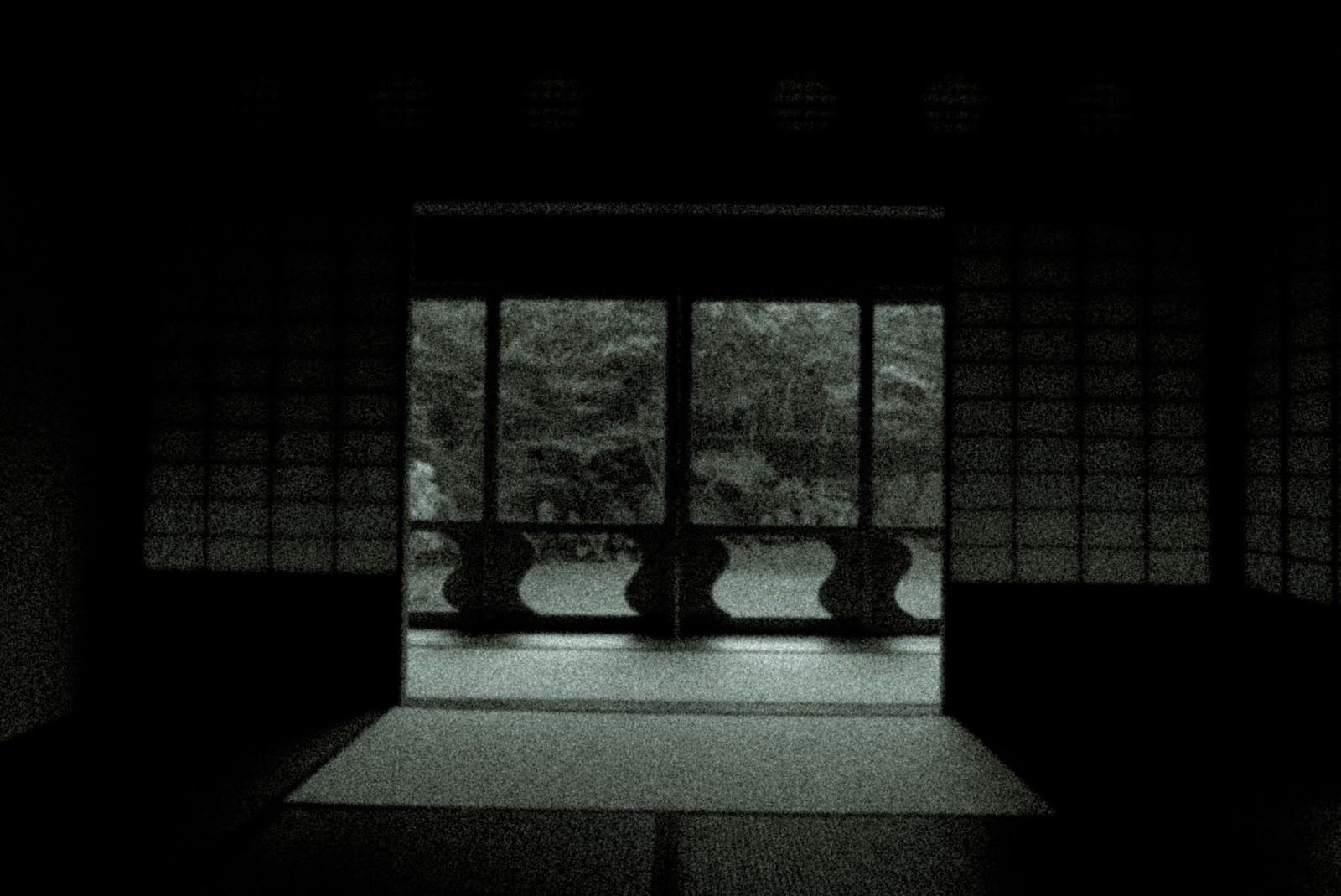 「辿り着いた障子の部屋」の写真