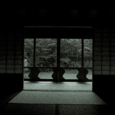 「辿り着いた障子の部屋」の写真素材