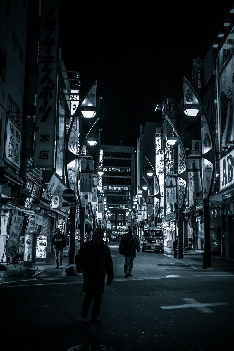 「上野駅の雑踏上野駅の雑踏」のフリー写真素材を拡大