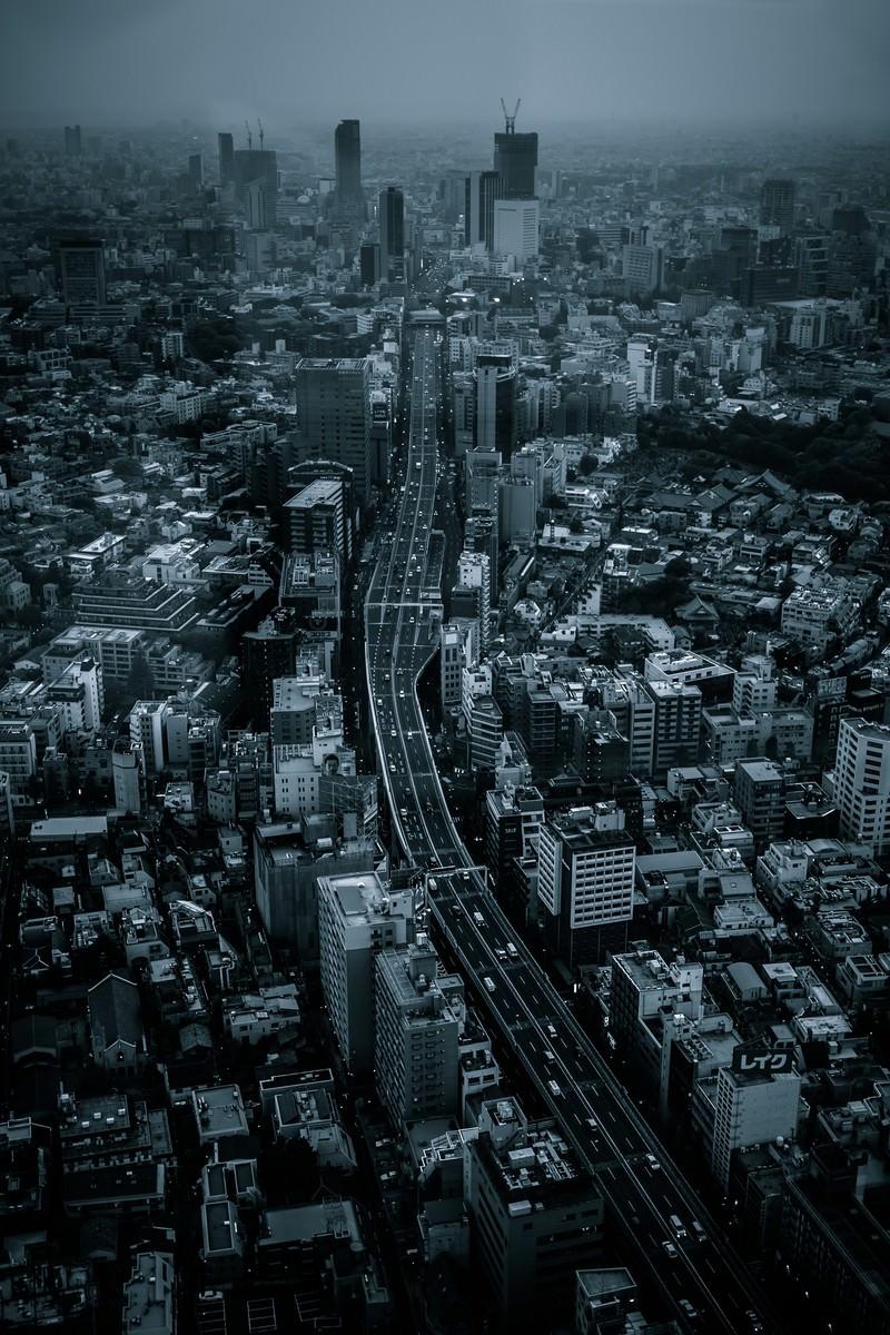 「都会の街並み」の写真