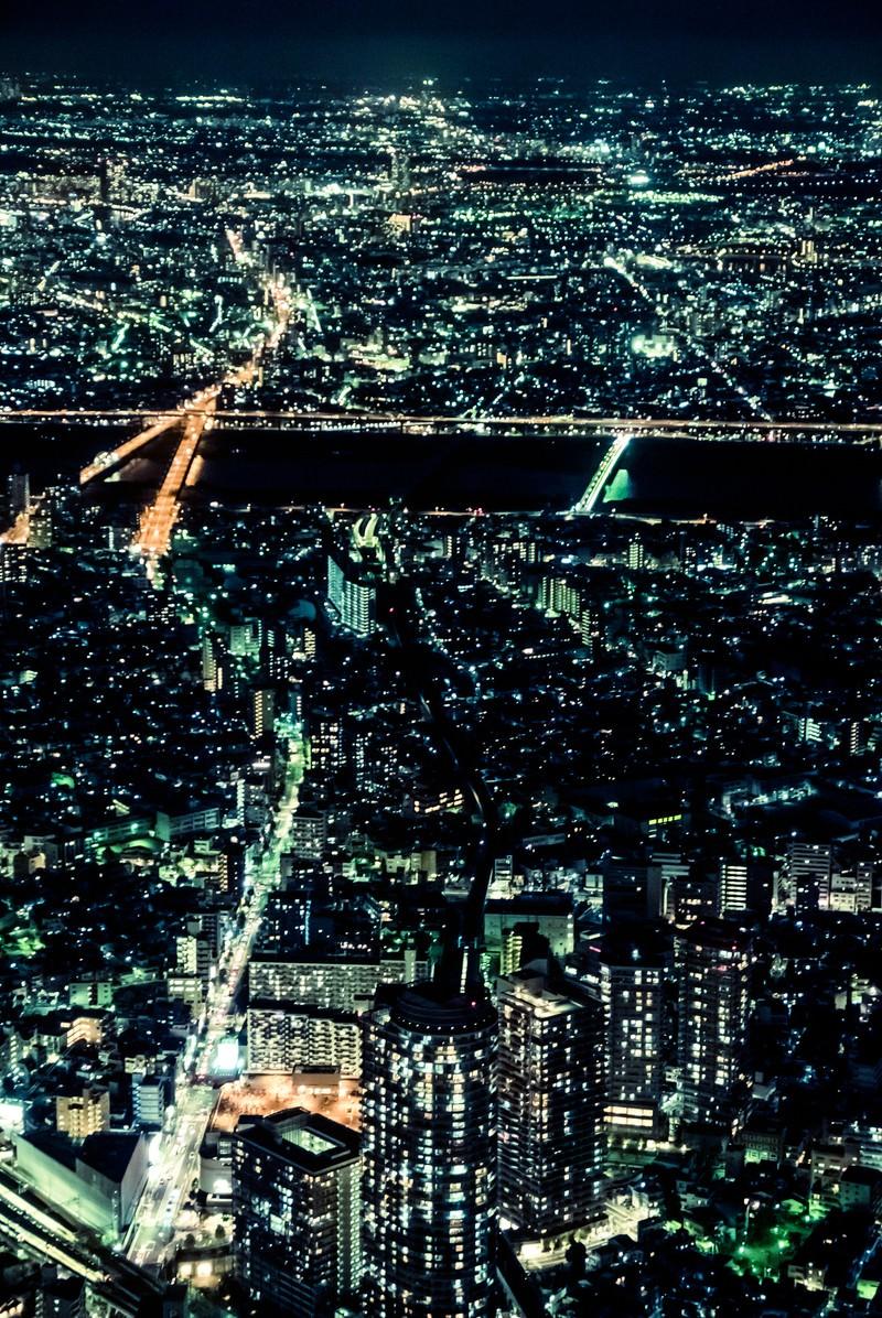 「都会の灯り」の写真
