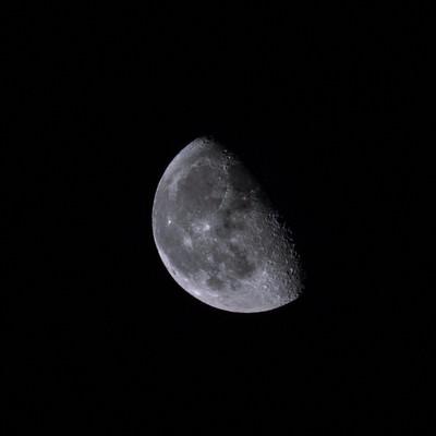 「2/3の純情な半月」の写真素材