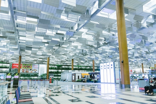 シンガポール・チャンギ国際空港の写真