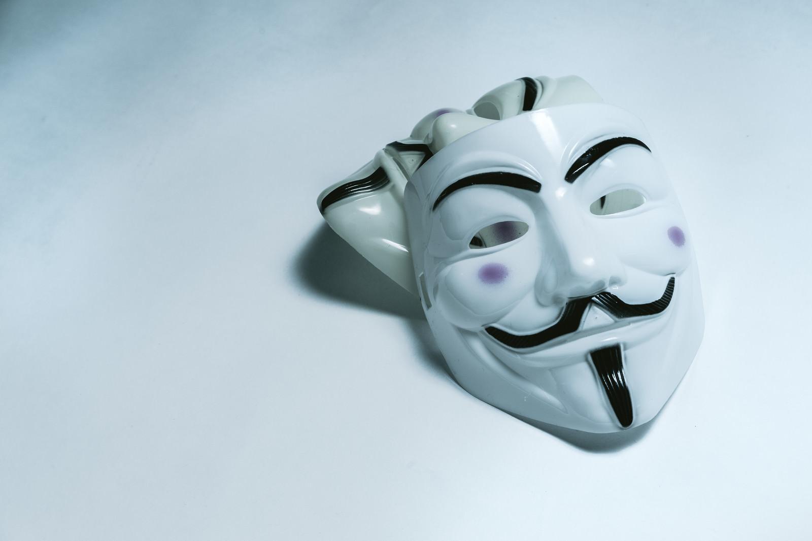 「匿名社会(匿名な仮面)匿名社会(匿名な仮面)」のフリー写真素材を拡大