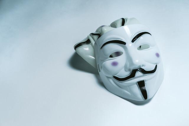 匿名社会(匿名な仮面)の写真