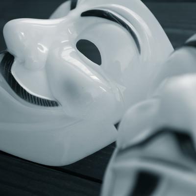 「増田の仮面」の写真素材