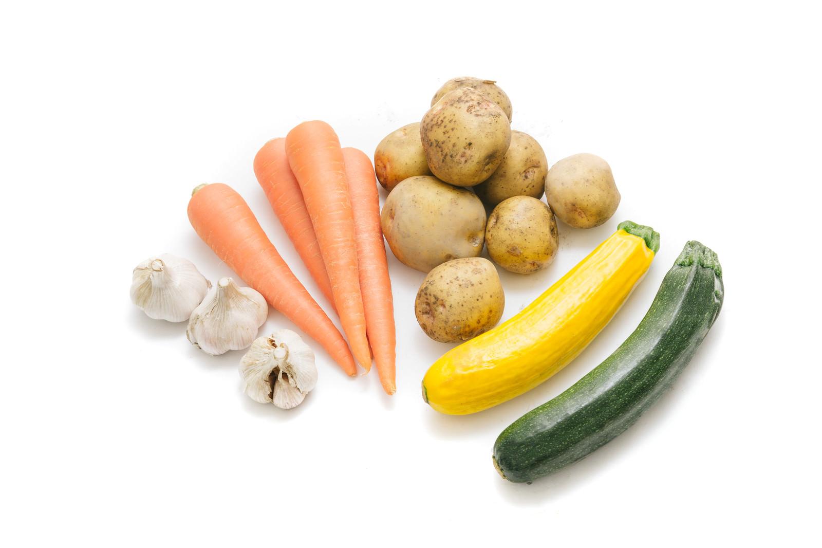 「大刀洗野菜の採れたて根菜など」の写真