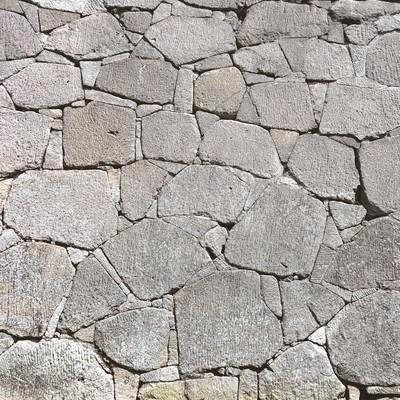 「お城の石垣(テクスチャー)」の写真素材