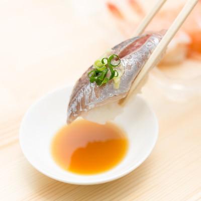 鯵のお寿司の写真