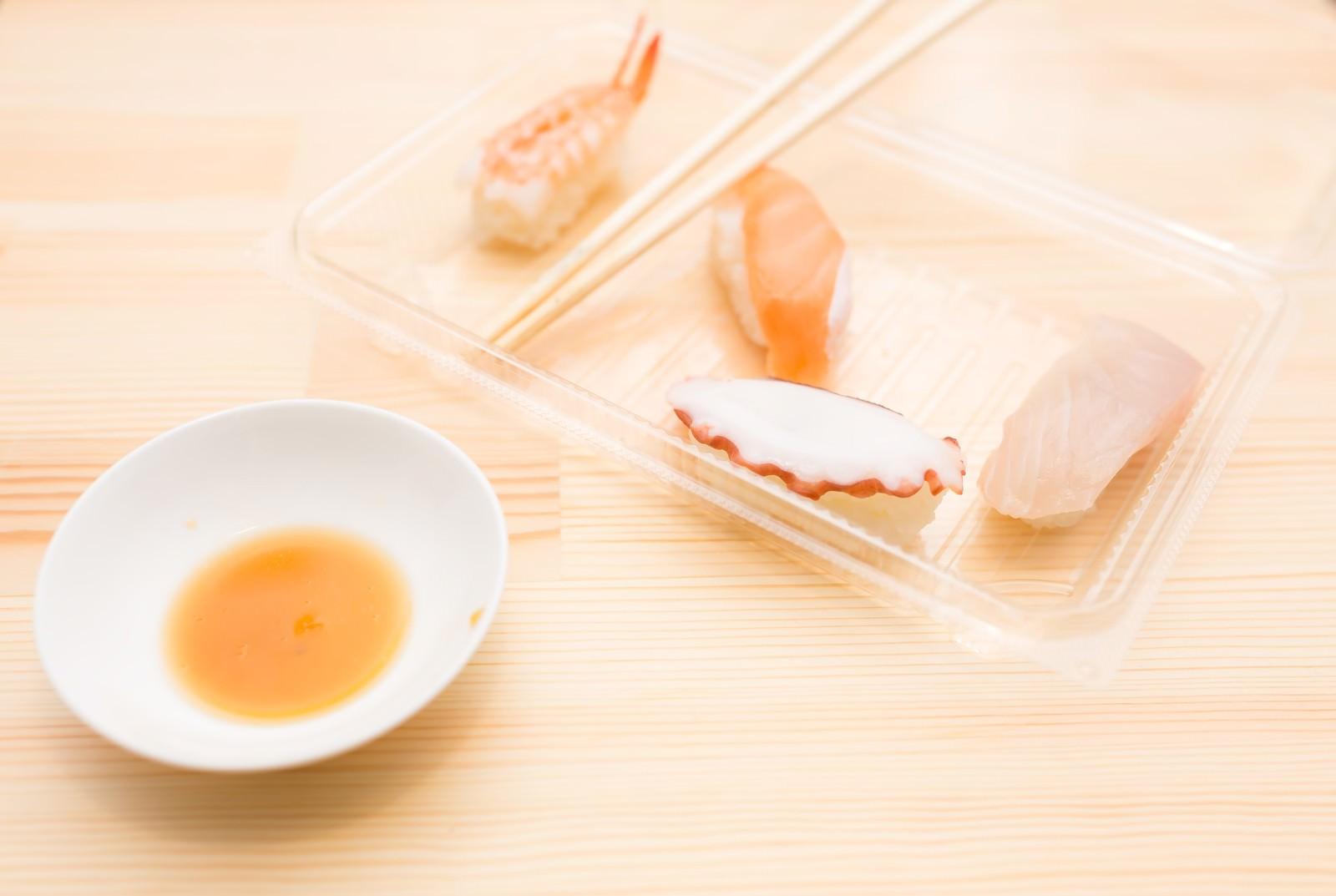 「食べ残された寿司食べ残された寿司」のフリー写真素材を拡大