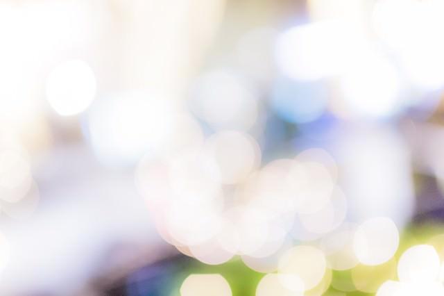 光のボケの写真
