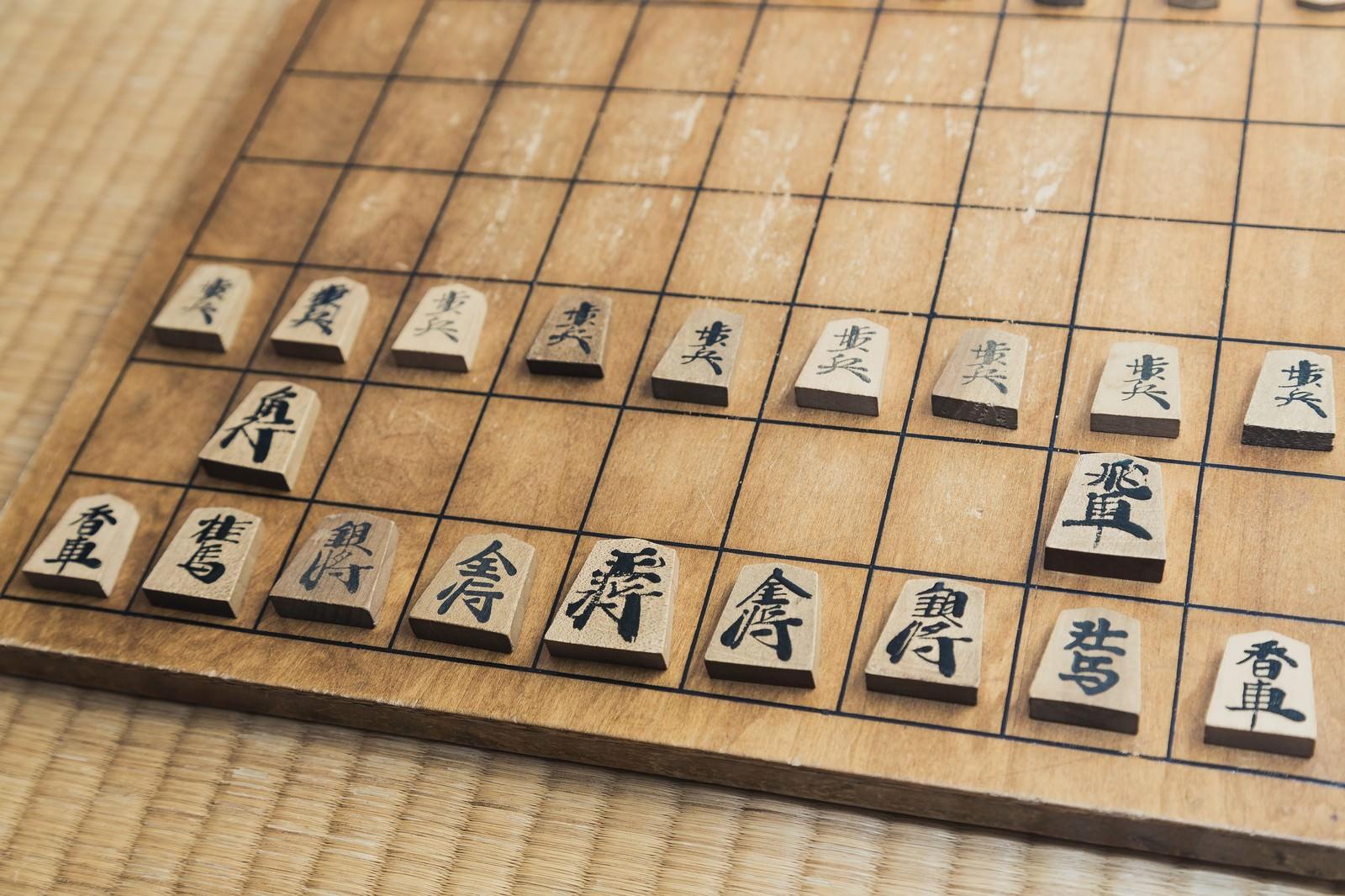 「これから将棋の対局」の写真