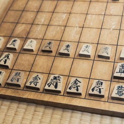これから将棋の対局の写真