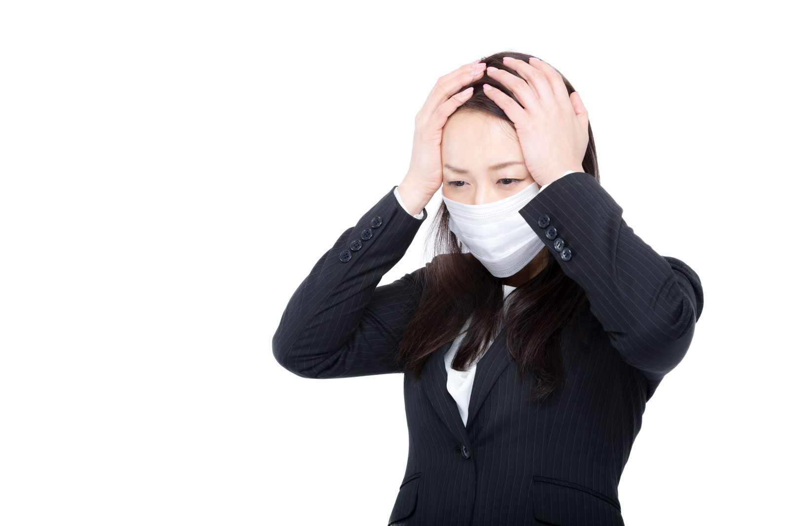 「花粉症かと思ったら風邪だった時花粉症かと思ったら風邪だった時」[モデル:土本寛子]のフリー写真素材を拡大