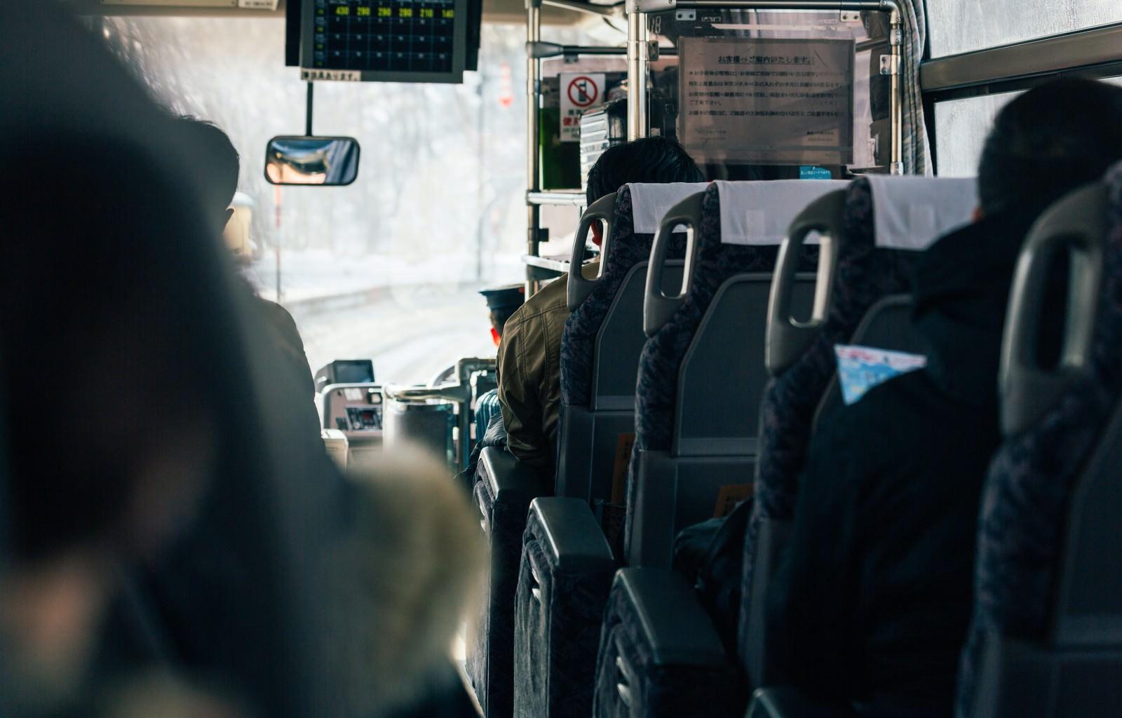 「高速バス高速バス」のフリー写真素材を拡大