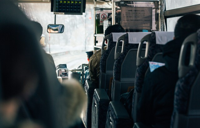 高速バスの写真