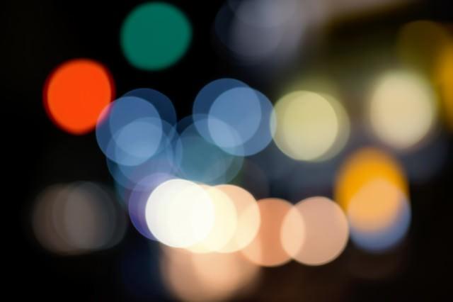 街の光の写真