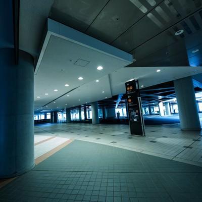 東京ビッグサイトのロータリーの写真