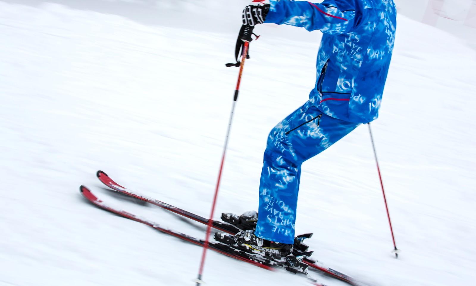 「スキーヤー」の写真