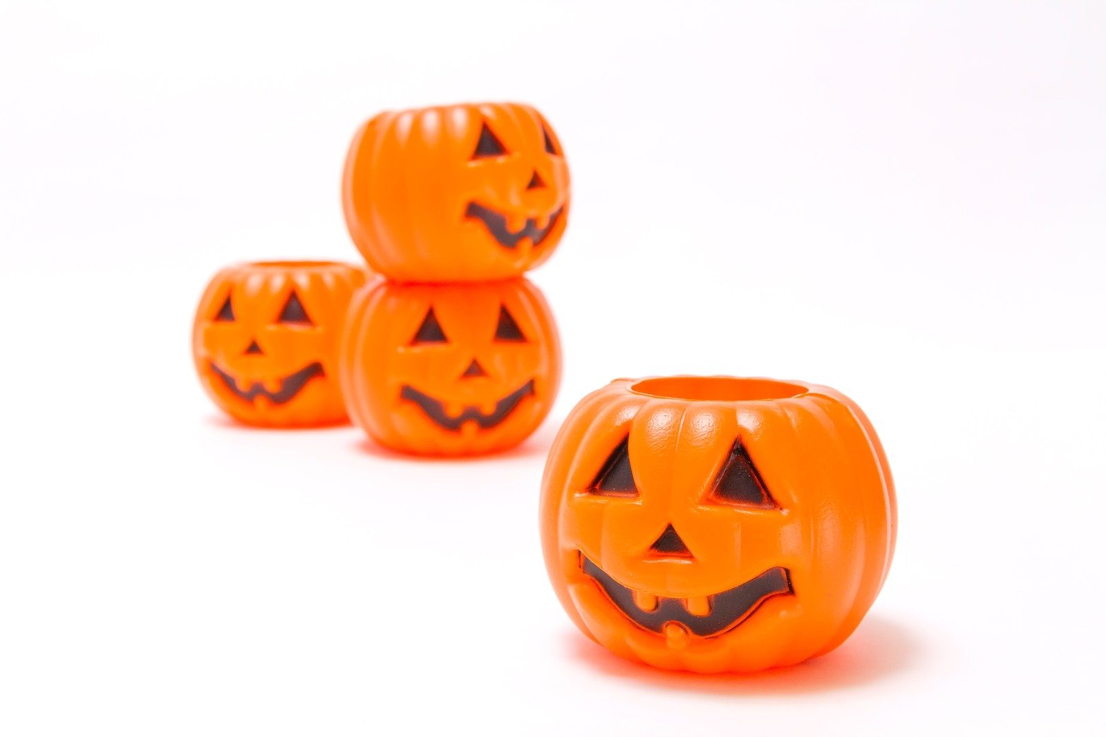 「ハロウィン用のかぼちゃ」の写真
