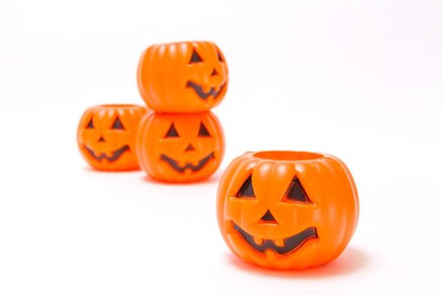 ハロウィン用のかぼちゃの写真
