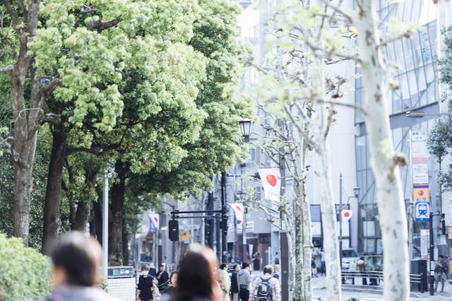 赤坂駅前の様子の写真