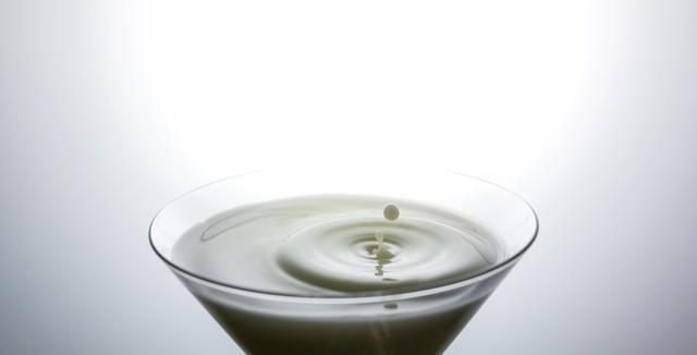 ミルクと波紋の写真