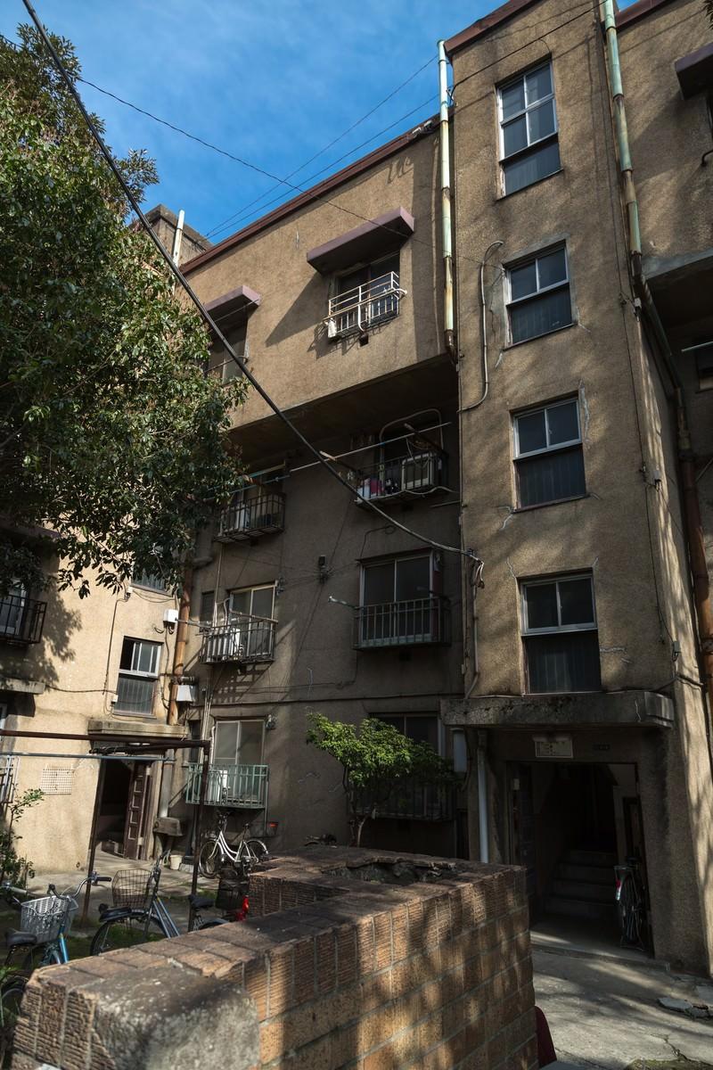 「最後の同潤会アパート」の写真