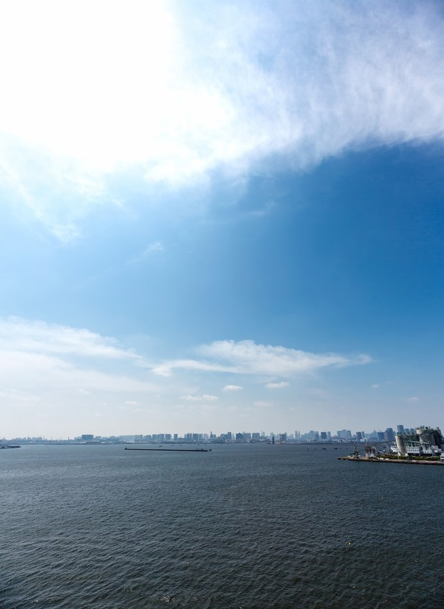 ゲートブリッジからの東京の写真