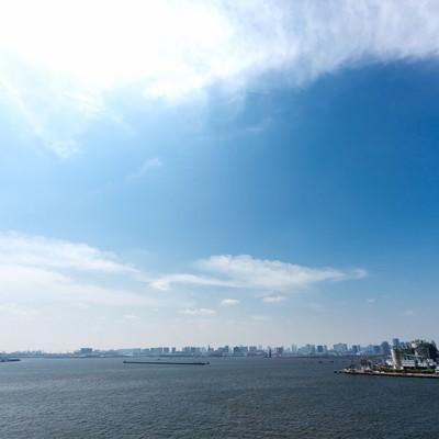 「ゲートブリッジからの東京」の写真素材
