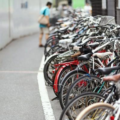 「自転車置き場」の写真素材