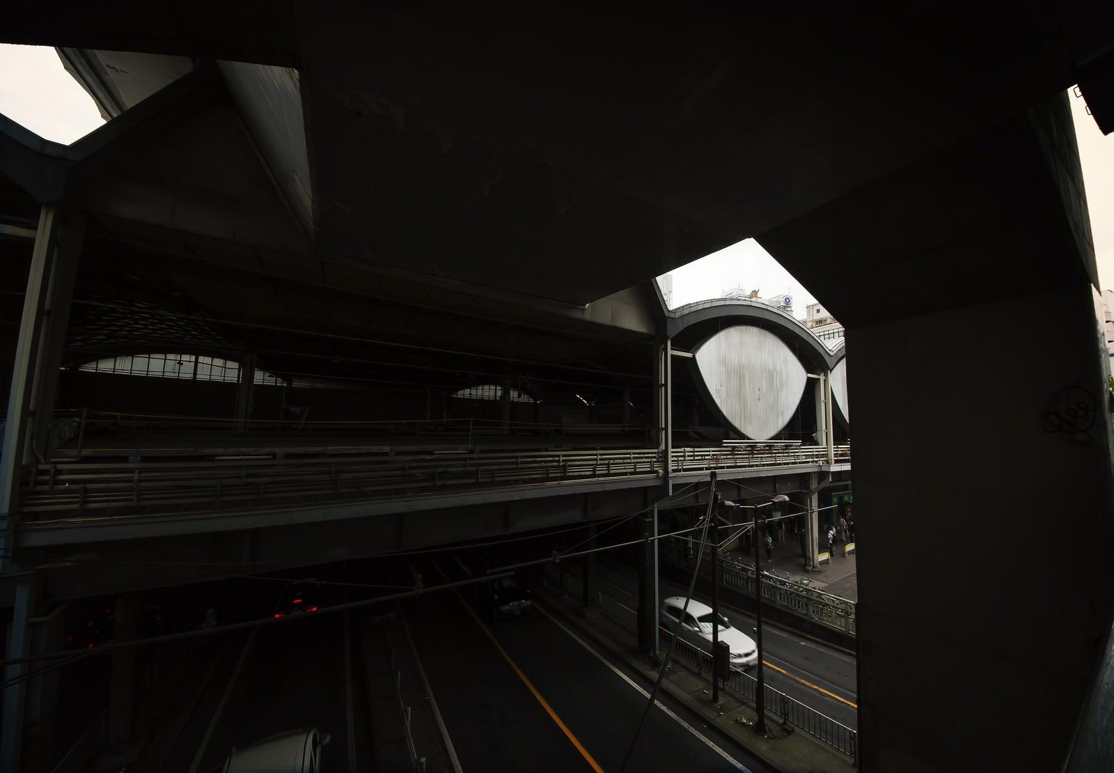 「旧東横線渋谷駅」の写真