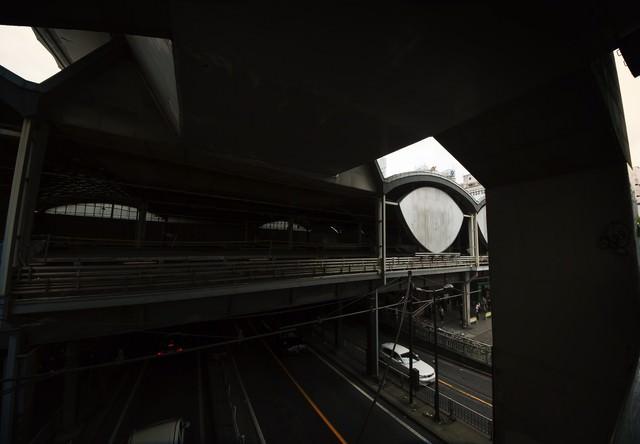 旧東横線渋谷駅の写真