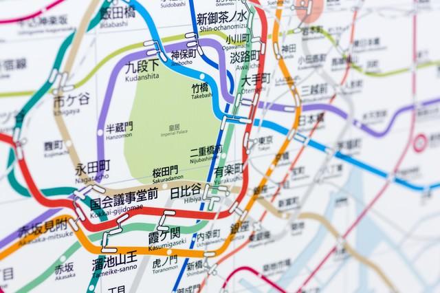 皇居:東京メトロ沿線の写真