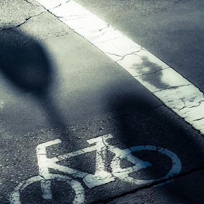 自転車専用道路の写真